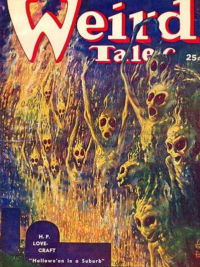 Weird Tales, juillet 1952