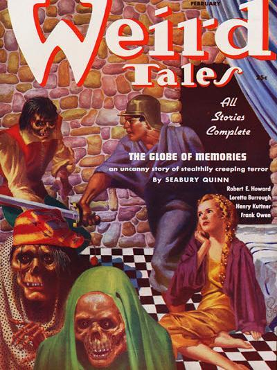Weird Tales, février 1937