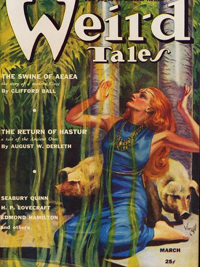 Weird Tales, mars 1939