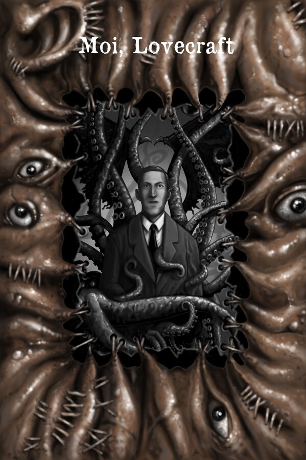 Moi, Lovecraft (couverture)