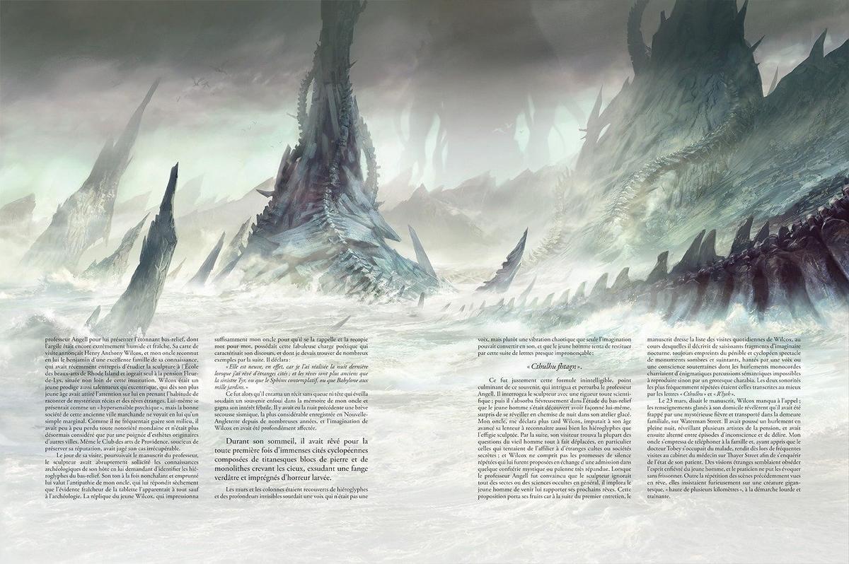 L'Appel de Cthulhu (illustration intérieure)