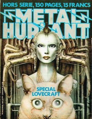 Métal Hurlant spécial Lovecraft (couverture)