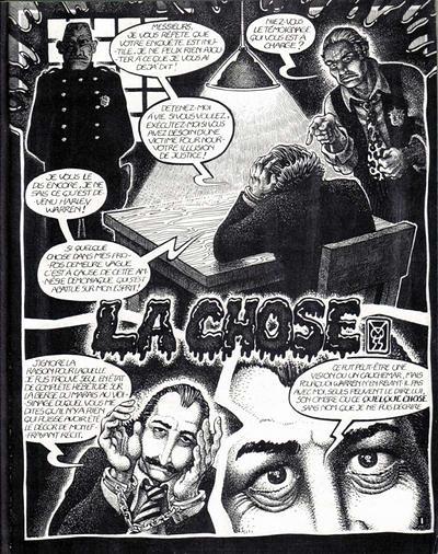 La Chose (page 1)