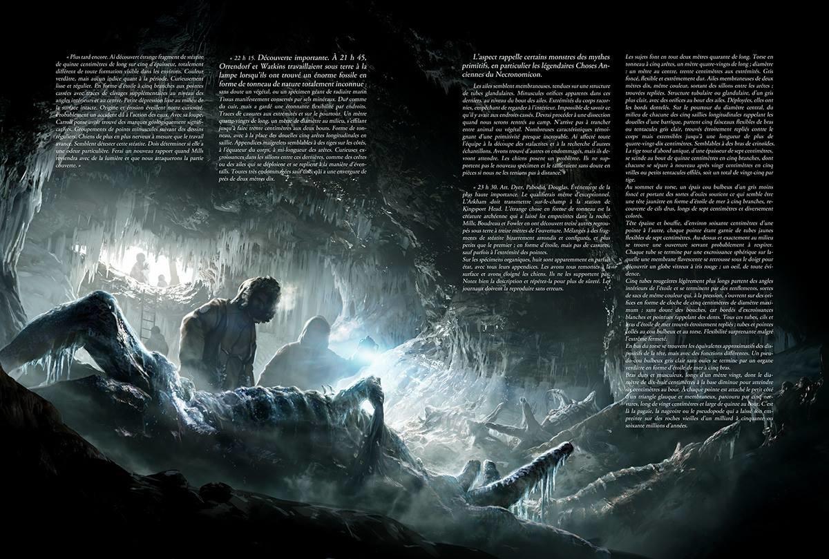 Les Montagnes Hallucinées (illustration intérieure)