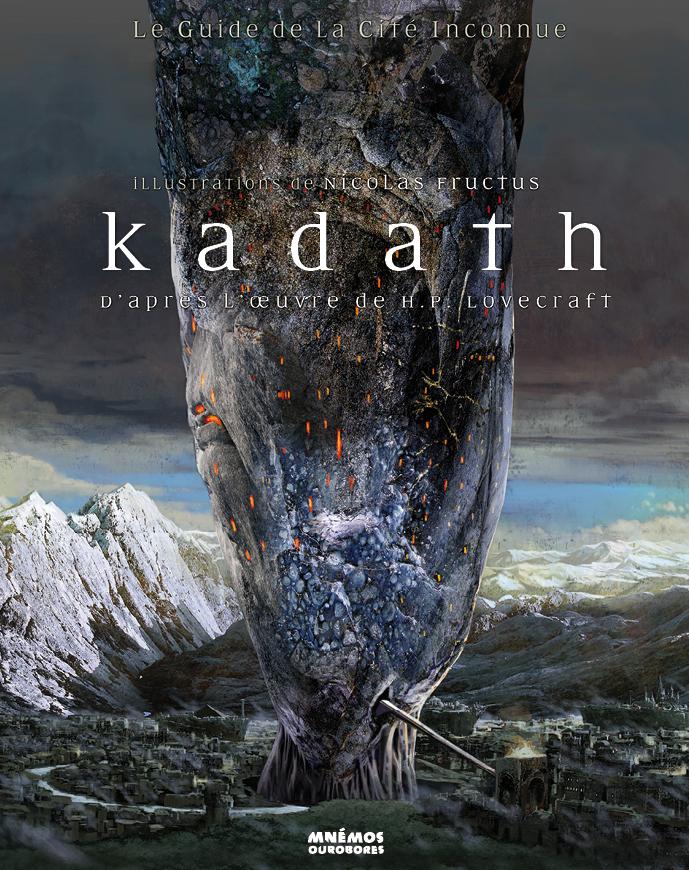 Kadath, le guide de la cité inconnue (couverture)