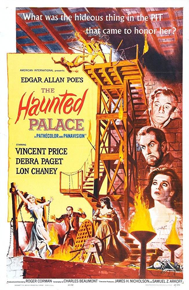 The Haunted Palace (affiche originale)