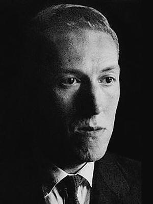 Portrait de H.P.Lovecraft en 1934