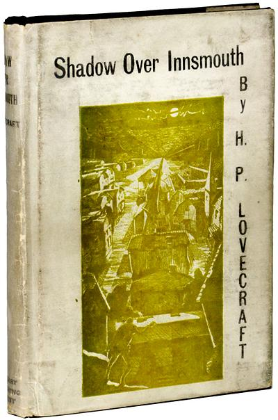 Couverture de « Shadow over Innsmouth », publié en 1936