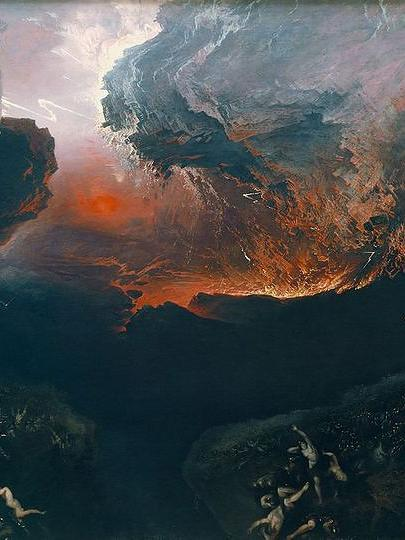 The Great Day of his Wrath, de John Martin