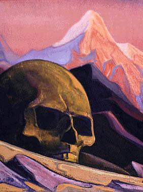 Issa et la Tête du Géant, de Nicholas Roerich